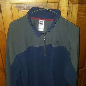 North Face Quarter Zip Fleece